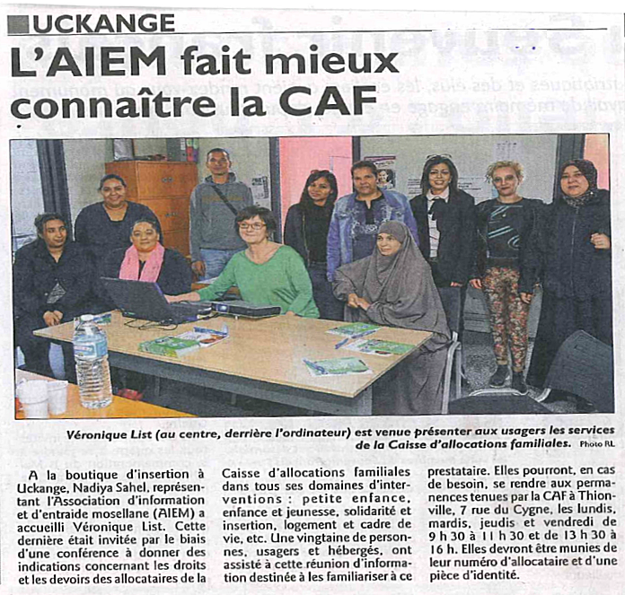 Caf Metz Ouverture